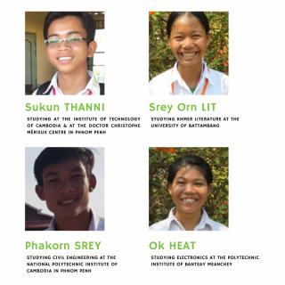 Samrong education center - students last year's graduates