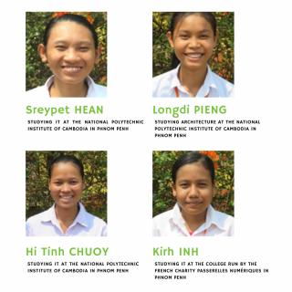 Samrong - students last year's graduates