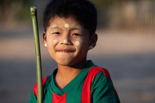 Karen boy from Myamar