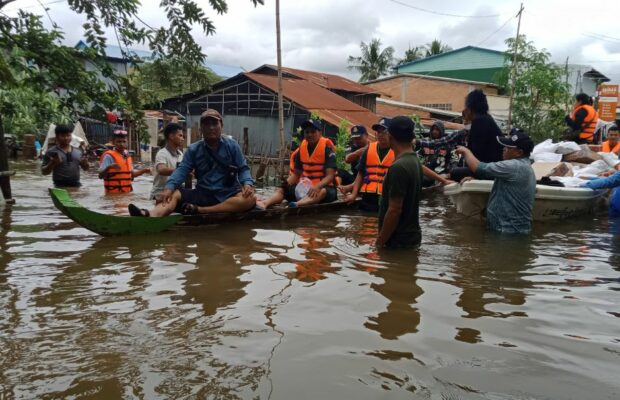 floods in Cambodia