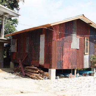 Boys ' dormitory in Tedim