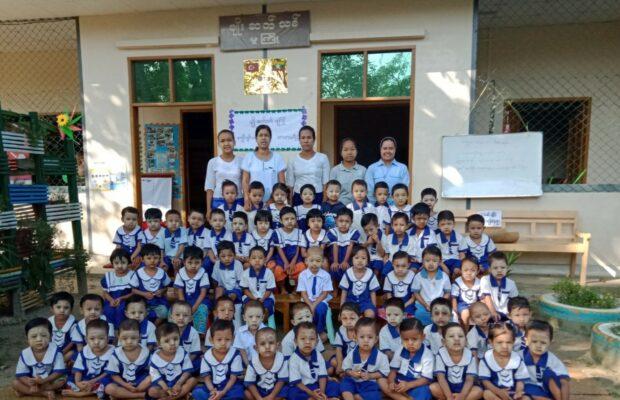 Montessori Kindergartens in Myanmar