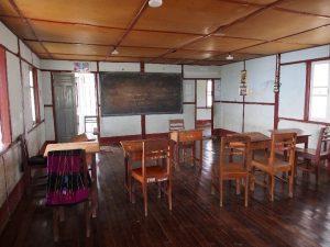 Girls' study room in Tedim