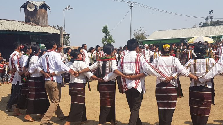 Through their coloured costumes et dances, each ethnic group can showcase their history.