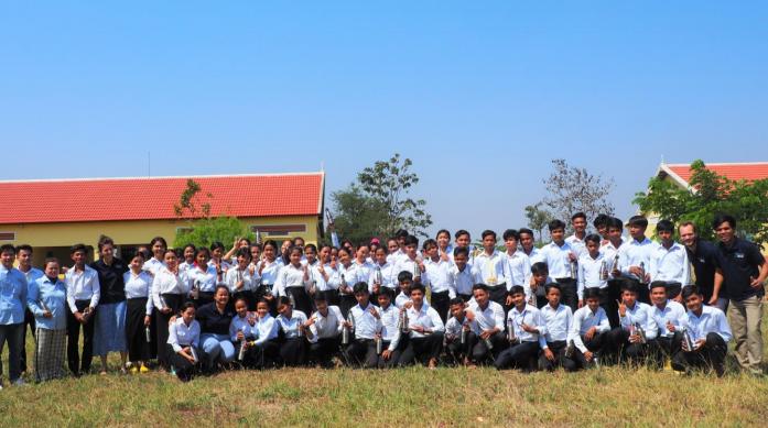 Samrong students