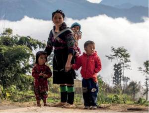 hmong family, ethnic group in Vietnam