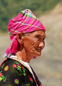 woman hmong, ethnic group in Vietnam