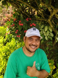 Gil Nino is a former sponsored child, very involved today in the organisation, 'Share A Child'