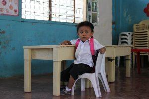 Gil Nino in the Cebu City slums of the Philippines