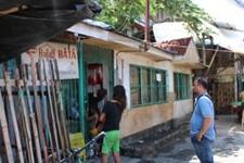 Gil Nino in a Cebu City slum, Philippines
