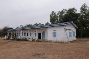 The school before the work began