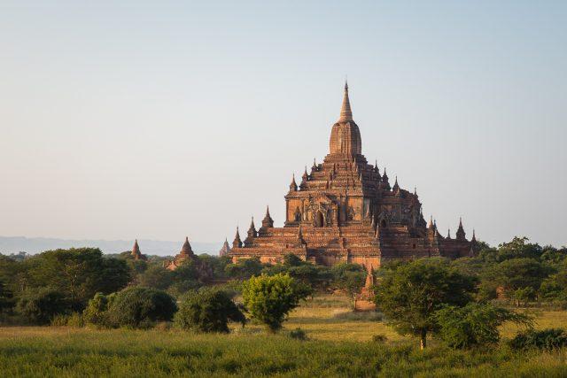 Sulamani temple in Bagan, Burma