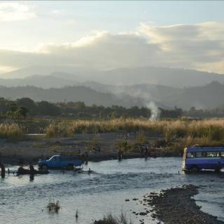 Chin region, roads, scenery