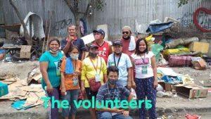 COTM volunteers in Inayawan